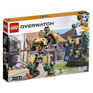 [HÀNG CÓ SẴN] Lego UNIK BRICK 75974 Bastion trong Overwatch – Bộ lắp ráp rô bốt Bastion trong game Overwatch