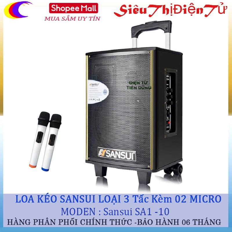 Loa kéo Sansui SA1-10 loại 3 tấc kèm 02 micro không dây - 2923040 , 1027066924 , 322_1027066924 , 1590000 , Loa-keo-Sansui-SA1-10-loai-3-tac-kem-02-micro-khong-day-322_1027066924 , shopee.vn , Loa kéo Sansui SA1-10 loại 3 tấc kèm 02 micro không dây