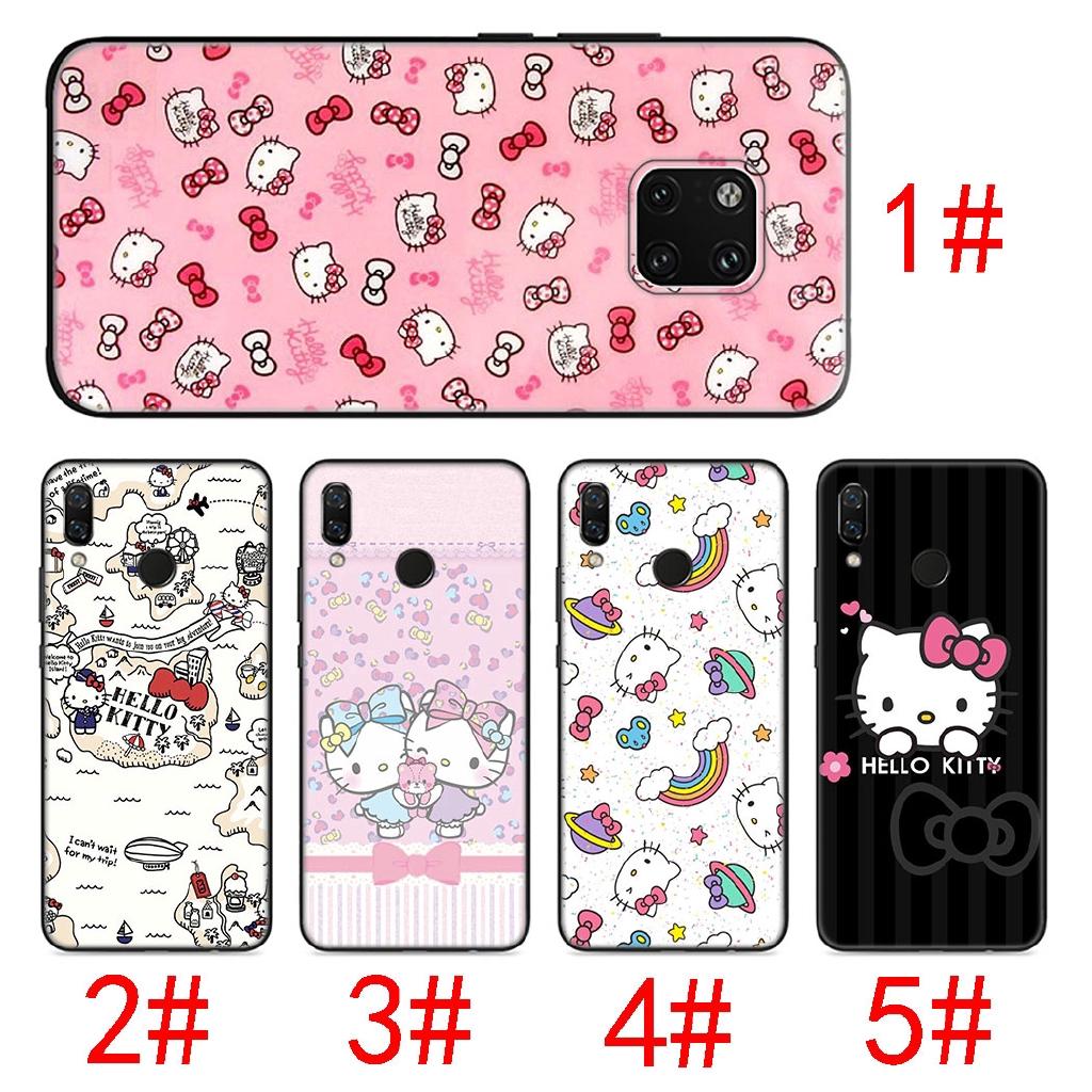 Huawei Nova Lite 2i 2 3 3i 4 for Huawei Mate 10 20 Pro Lite Soft Case Hello kitty A