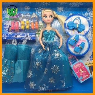 Búp Bê Elsa Kèm Giày + Váy + Vương Miện (BB1899-2)
