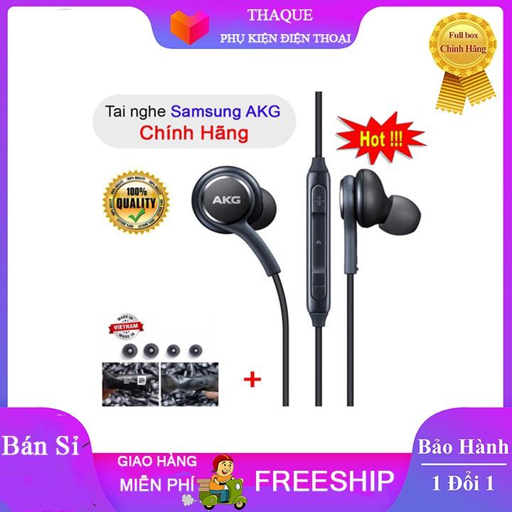 Tai nghe samsung AKG S10 âm thanh tuyệt hảo tặng kèm 4 nút tai thay thế.