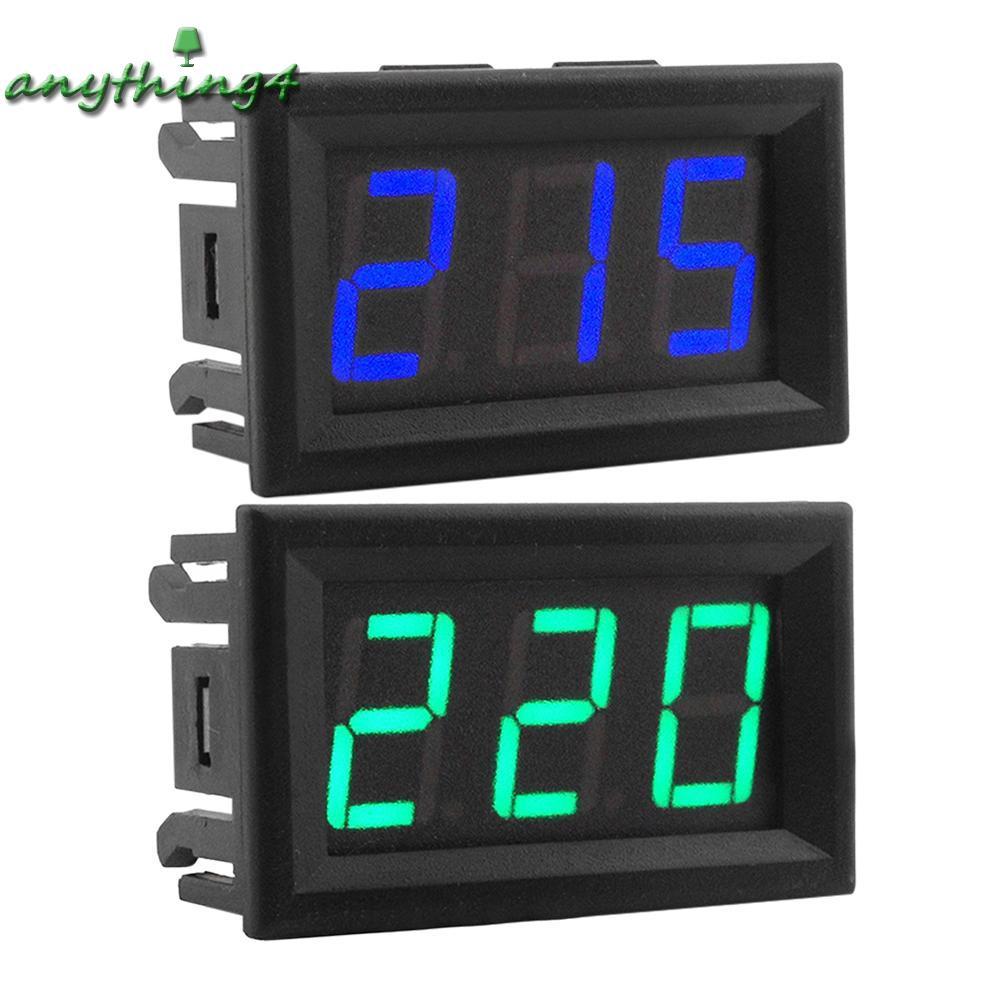 Đồng Hồ Đo Điện Áp Ac70-500V 2 Dây Có Đèn Led Thiết Kế Đa Năng