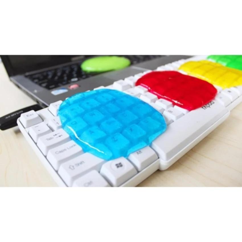 Combo 5 gói keo dẻo lăn bụi vệ sinh bàn phím máy tính laptop