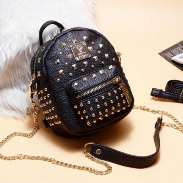Balo đinh Versace