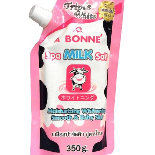 Muối sữa tẩy tế bào chết SPA Abonne Thái Lan 350gr