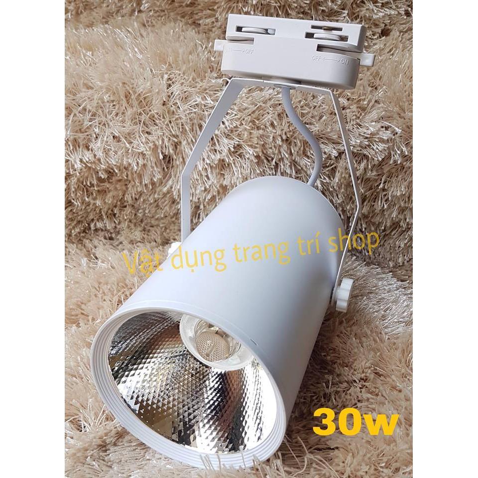 Đèn led rọi thanh ray COB 30w vỏ trắng - 3445532 , 1129422758 , 322_1129422758 , 106500 , Den-led-roi-thanh-ray-COB-30w-vo-trang-322_1129422758 , shopee.vn , Đèn led rọi thanh ray COB 30w vỏ trắng