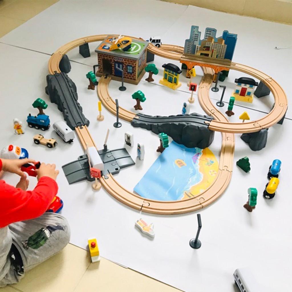 Bộ lắp ghép mô hình thành phố siêu to 95 chi tiết