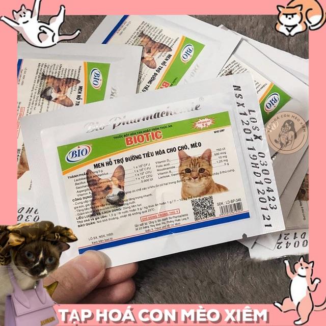 [SHIP NHANH] Men Tiêu Hoá Cho Chó Mèo Biotic