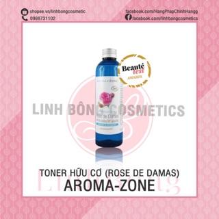 NƯỚC HOA HỒNG AROMA ZONE CHO DA KHÔ ROSE DE DAMAS 200ML thumbnail
