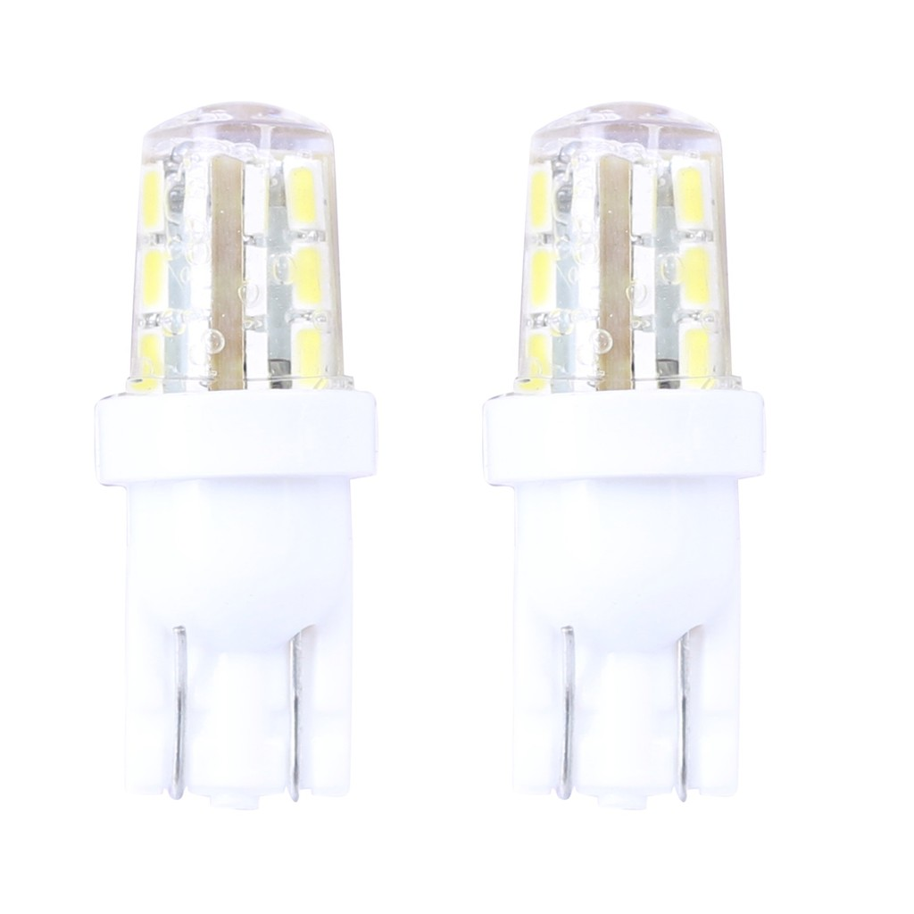 Bộ 2 led T10 VH020 24SMD silicon (sáng trắng)