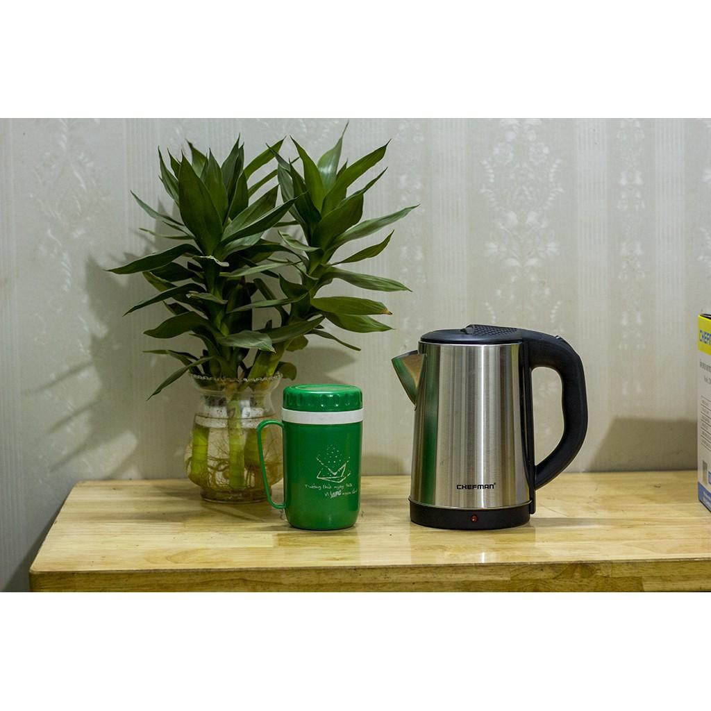 ✨Ấm Siêu Tốc Chefman✨ Tặng 1 Hộp đựng nước rửa bát, Bảo Hành 12 Tháng - Ấm Siêu Tốc - Ấm Đun Nước - Ấm Điện