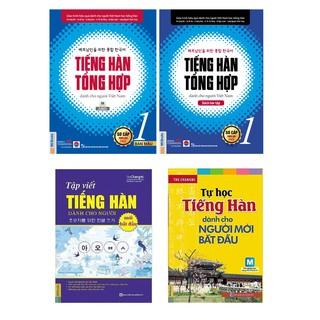 Sách - Giáo Trình Tiếng Hàn Tổng Hợp Dành Cho Người Việt Nam - Sơ Cấp 1 Bản Màu + Tự học tiếng Hàn + Tập viết tiếng Hàn