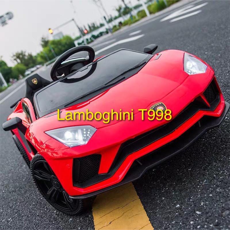 Xe ô tô điện trẻ em kiểu Lambo cánh mở sành điệu LT998