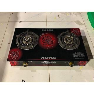 ⭐ [ GIÁ TỐT ] Bếp đôi cao cấp Vinlando mẫu mới nhât ( Bảo hành chính hãng ) 💯 . tặng kèm dây Gas 1.5 m