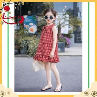 Váy Bé Gái LYDO BB còn size 6 ( 17kg - 18kg ) Hàng Công Ty Vải Lụa Xịn, Mịn, Mát