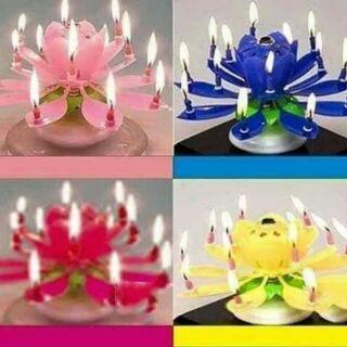 Nến sinh nhật tự động phát sáng