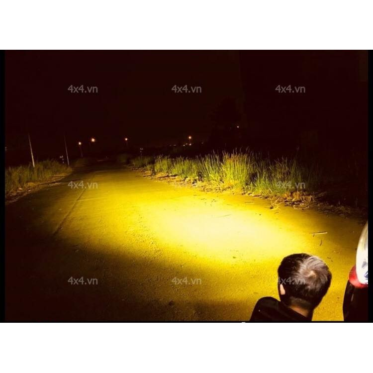 Lens phá sương L4 - L4X ( len vàng gắn đèn trợ sáng chống loá )