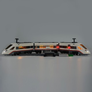 [Mã TOYCB7 hoàn 20K xu đơn 50K] Bộ đồ chơi lắp ráp lego hình tàu lửa tốc độ cao chất lượng