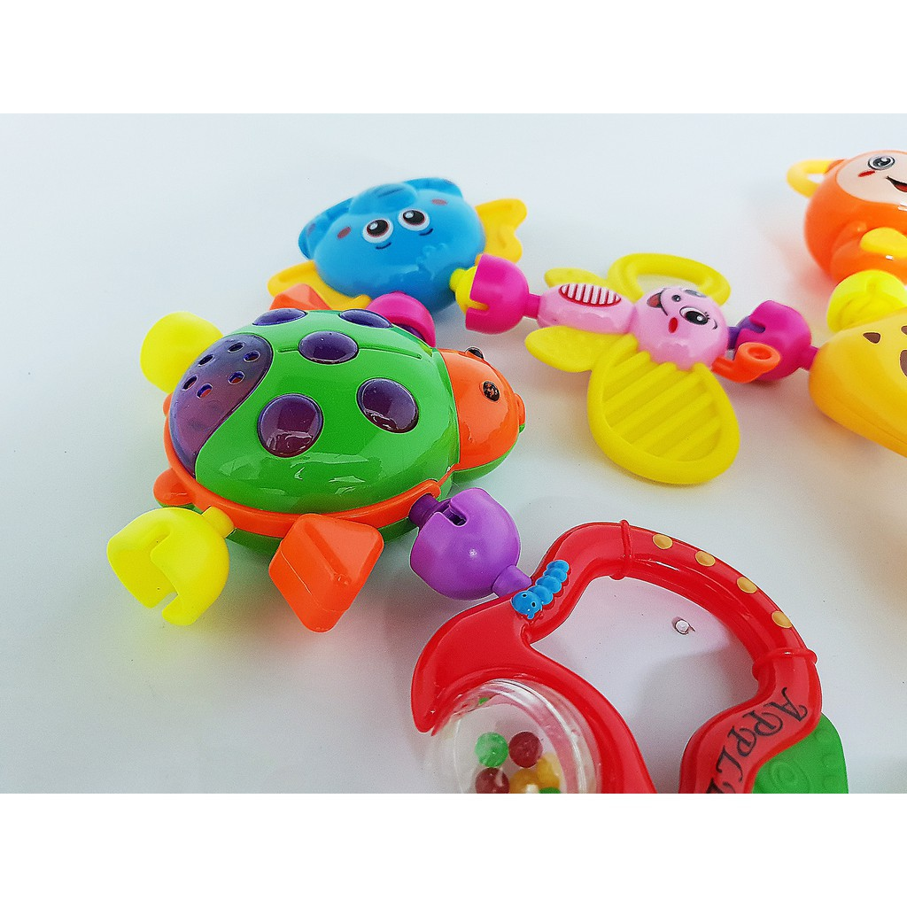 [ HOT SALE ] Bộ đồ chơi xúc xắc 8 món cho trẻ