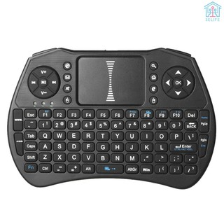 【E&V】2.4GHz Wireless Keyboard Air Mouse Touchpad Handheld Remote Control for Android TV BOX PC Smart TV