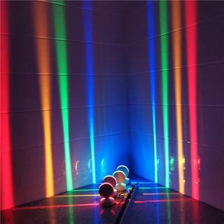 Đèn tường LED RGB 360 độ Ray khung cửa Đường dây Đèn tường Đèn tường Cửa sổ Đèn trang trí nội thất Chiếu sáng hành lang Ánh sáng tia Đường dây Đèn tường Ánh sáng lối đi AC85-265V