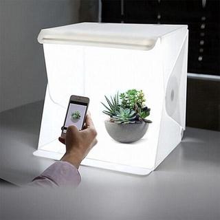 Hộp phông nền mini tích hợp đèn led dùng chụp ảnh quảng cáo sản phẩm tiện dụng thumbnail