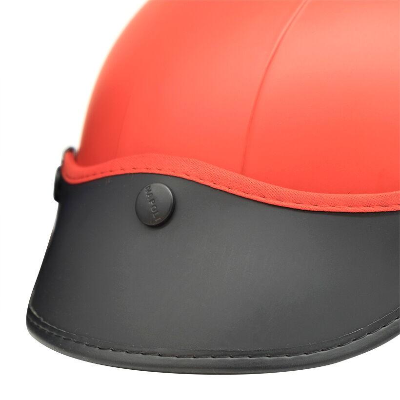 Mũ bảo hiểm nửa đầu Napoli N205 Freesize (Đỏ)