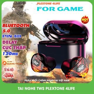 Tai nghe bluetooth plextone 4life TWS,chuyên game,độ trễ cực thấp ( Tặng túi lưới )