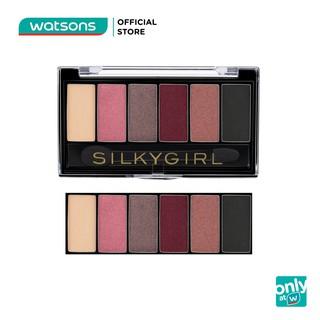 Phấn mắt 6 ô Silkygirl Truly Nude 6g Eye Palette . 04 Brick thumbnail