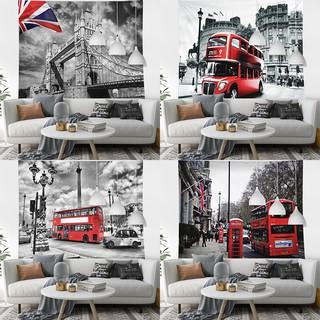 Thảm Treo Tường Trang Trí Hình Lá Cờ London