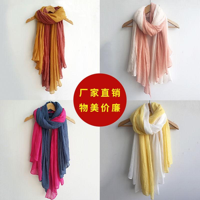 Khăn Choàng Cotton Thời Trang