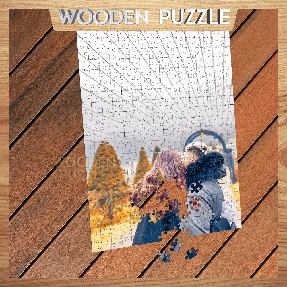 [IN THEO YÊU CẦU] Bộ xếp hình chất liệu gỗ 300 – 500 mảnh ghép in theo yêu cầu MADE IN VIET NAM WP23