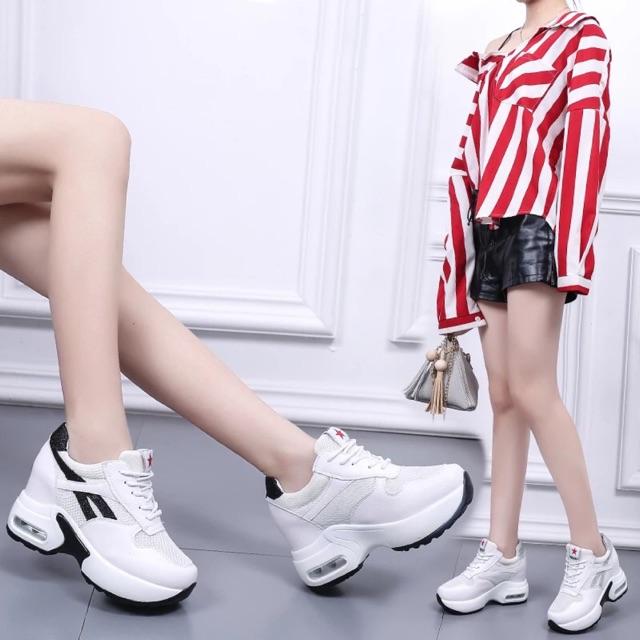 [ Hàng order 5 ngày] giày thể thao đế độn nữ Hàn xẻng 9cm - 2431770 , 1284336921 , 322_1284336921 , 310000 , -Hang-order-5-ngay-giay-the-thao-de-don-nu-Han-xeng-9cm-322_1284336921 , shopee.vn , [ Hàng order 5 ngày] giày thể thao đế độn nữ Hàn xẻng 9cm