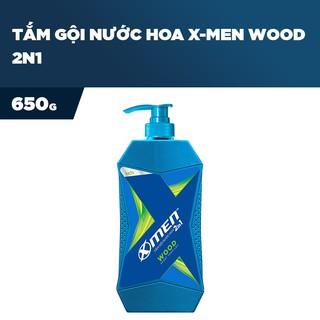 [Hàng Chính Hãng]Tắm Gội X-Men 2 in 1 Sport Wood – Thơm Lâu 650g