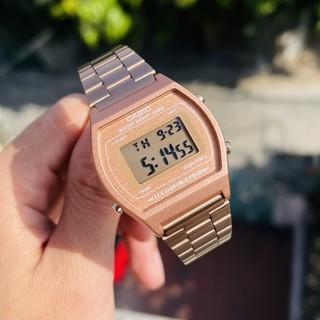 Đồng hồ Casio B640 Rose Gold, nam B650 Rose Gold ( Fullbox Chính Hãng )