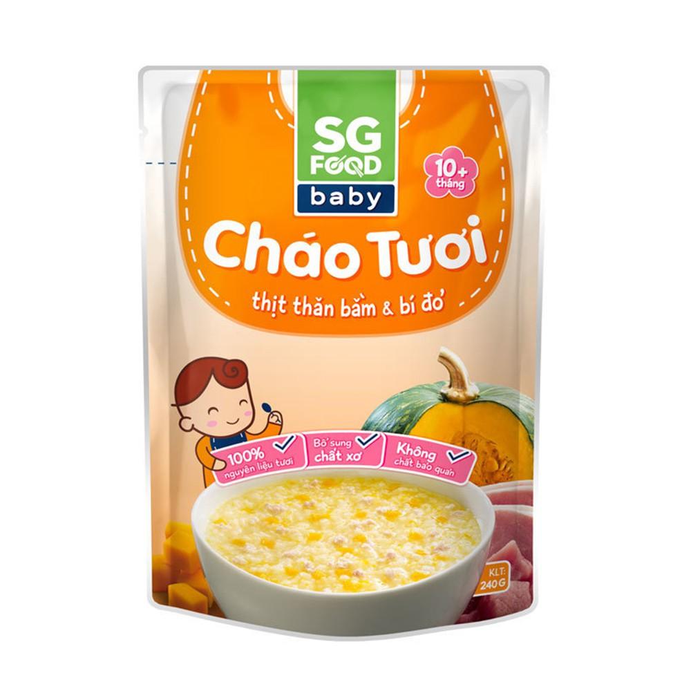 Cháo tươi SG Food 10M+ đủ vị