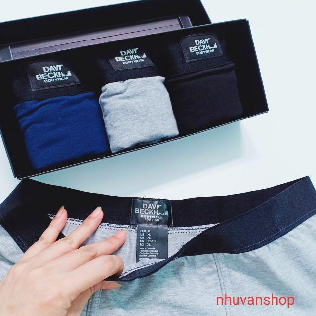Combo 3 quần sịp nam quần lót nam cao cấp có hộp