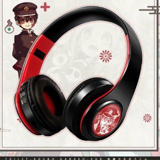Toilet-Bound Hanako-kun Anime Japanese Prompt Tone Wireless Bluetooth Headphones