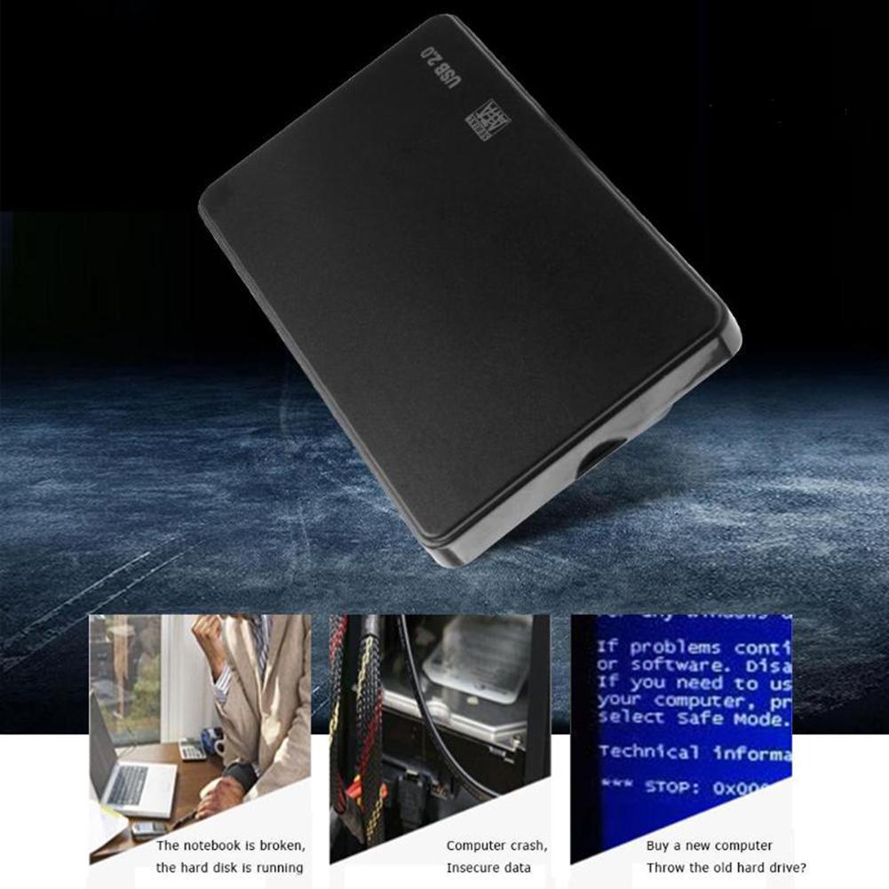 Ổ Cứng Ngoài Usb 2.0 2.5inch Sata Hdd Ssd Cho Pc Laptop