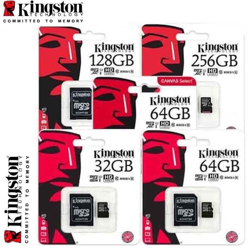 Kingston Micro SD Memory Card 32GB 64GB 128GB For tachograph