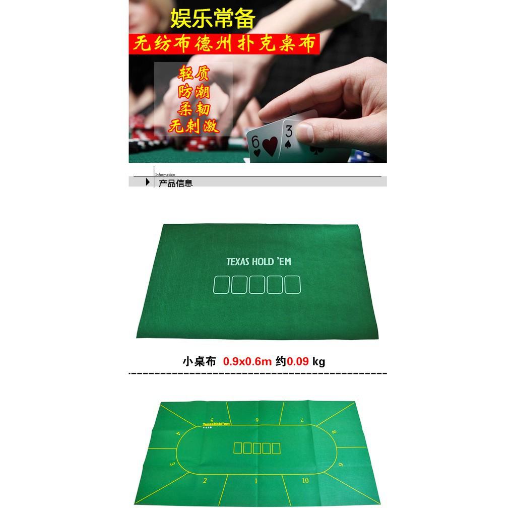 bộ bài poker bằng nhựa không dệt