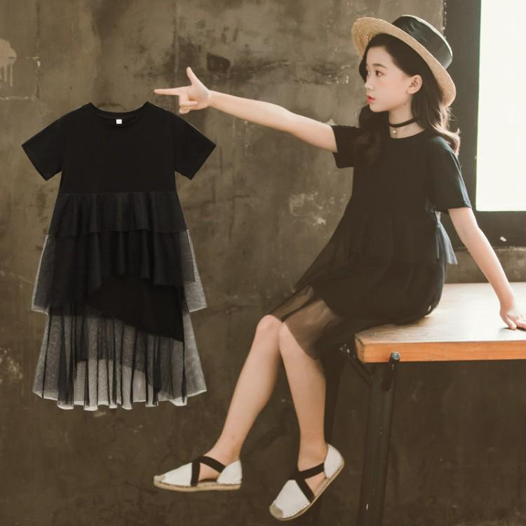 Stylish and cute primary chiffon dress for girls