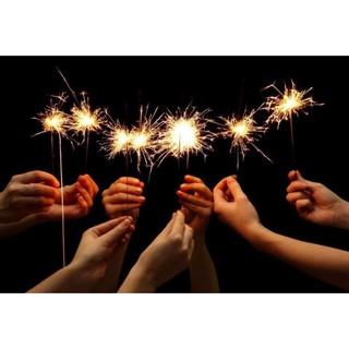 (gói 10 que) cây hoa lửa – pháo bông sinh nhật – sp bộ quốc phòng