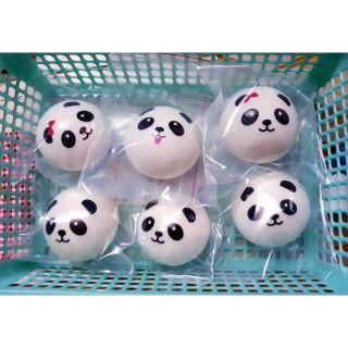 (SALE NHANH 15K/BÉ SQUISHY PANDA 7cm)_ Đồ chơi bóp nắn giảm stress squishy Panda 7cm