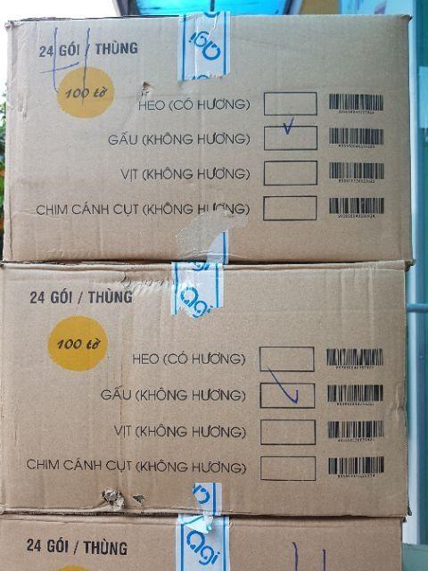Combo 6 khăn ướt Agi 100 tờ không mùi tặng 02 gói Agi 80 tờ
