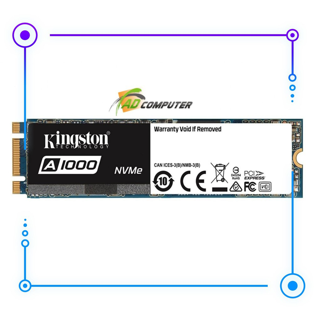 Ổ cứng SSD KINGSTON A1000 M.2 240GB Giá chỉ 1.640.000₫