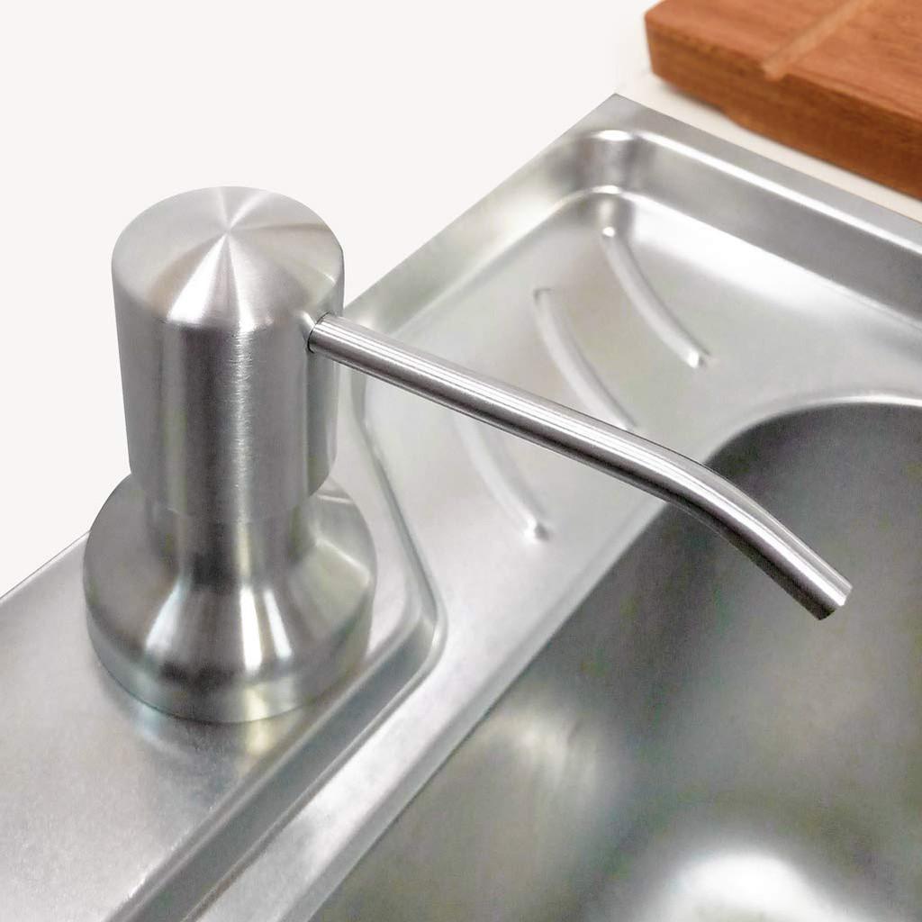 Bình Đựng Nước Rửa Chén Gắn Vào Chậu Rửa Chén HOBBY NRC1 - Bình Nước Xà Bông Gắn Vào Chậu Rửa