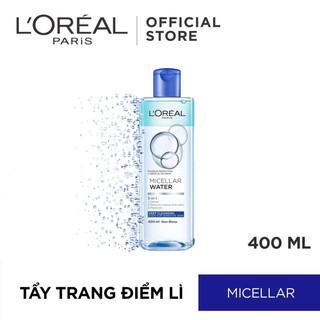Nước tẩy trang L oreal 400ml (Xanh đậm – Làm sạch da trang điểm)