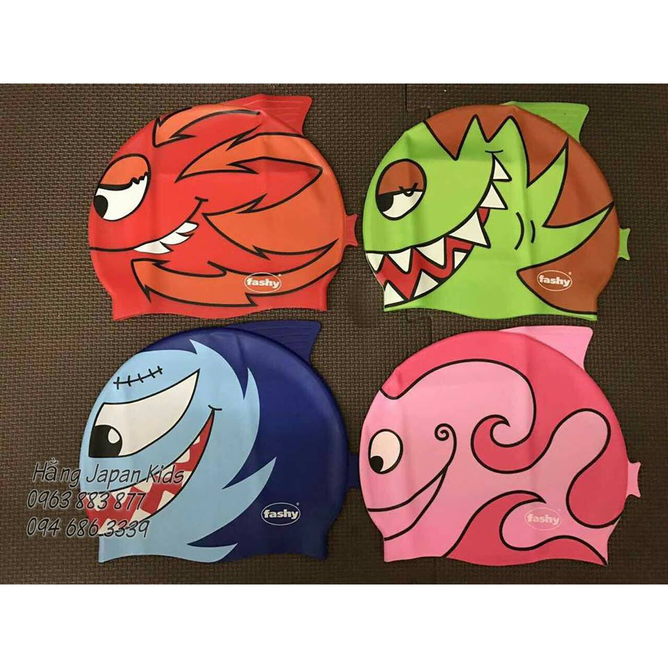 Nón bơi trẻ em Fashy hình cá 100% Silicone - 2971503 , 1299084452 , 322_1299084452 , 210000 , Non-boi-tre-em-Fashy-hinh-ca-100Phan-Tram-Silicone-322_1299084452 , shopee.vn , Nón bơi trẻ em Fashy hình cá 100% Silicone