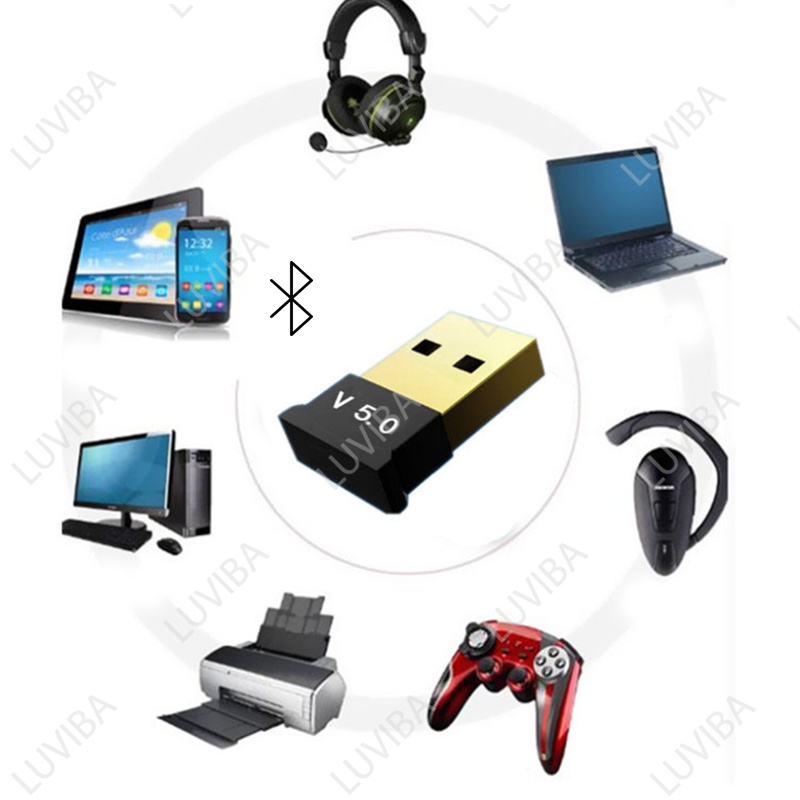 USB bluetooth 5 0 dongle cho pc cho laptop LUVIBA UB50